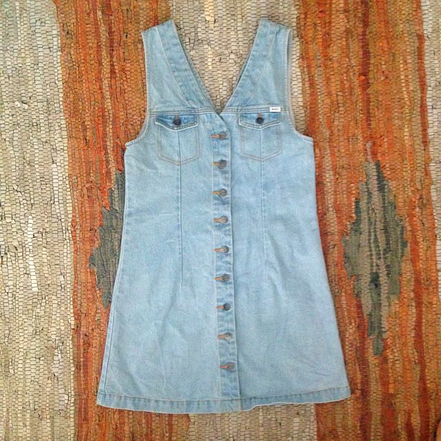 New with tags button up denim dress