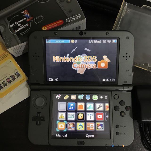 Nintendo New 3DS XL Metallic Black