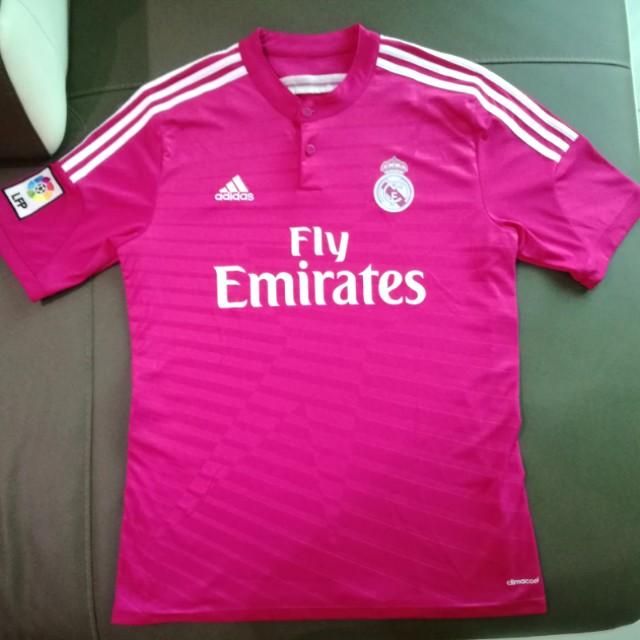3cb874241 Original Adidas Real Madrid Away Jersey Season 14 15