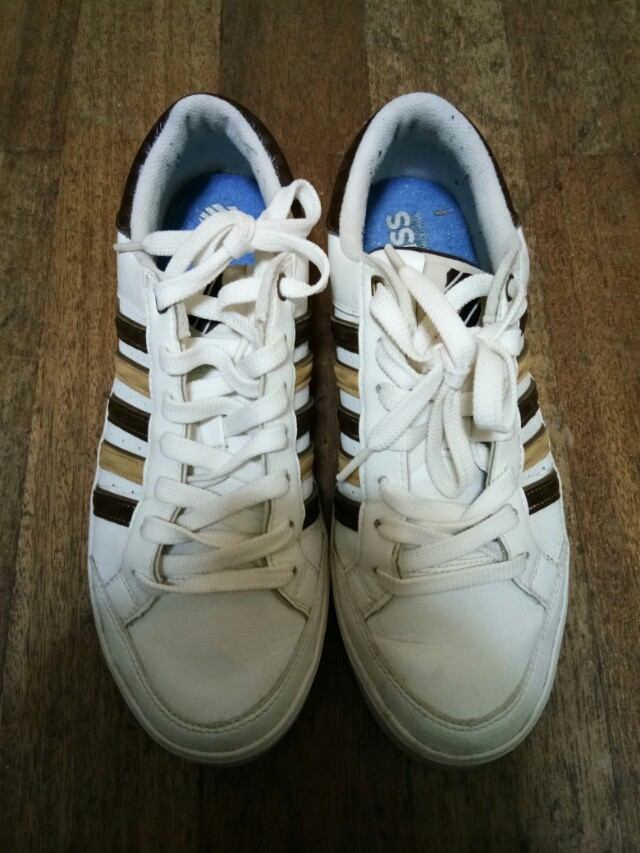 Original K-Swiss White Shoes