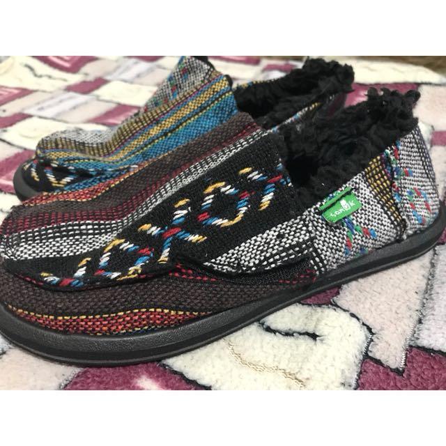 Original Sanuk Yoga Mat shoes for kids