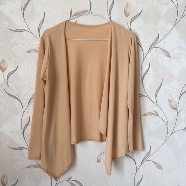 Outer Cardigan Nude