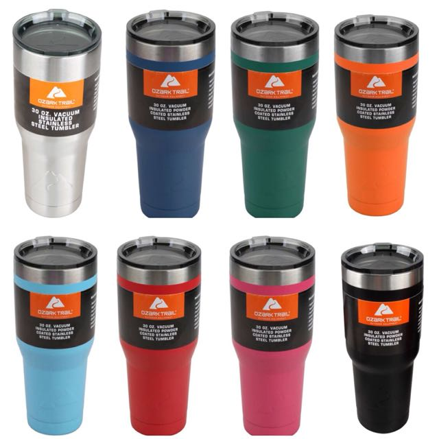 909bf58dc25 Ozark Trail 30-Ounce Double-Wall, Vacuum-Sealed Tumbler