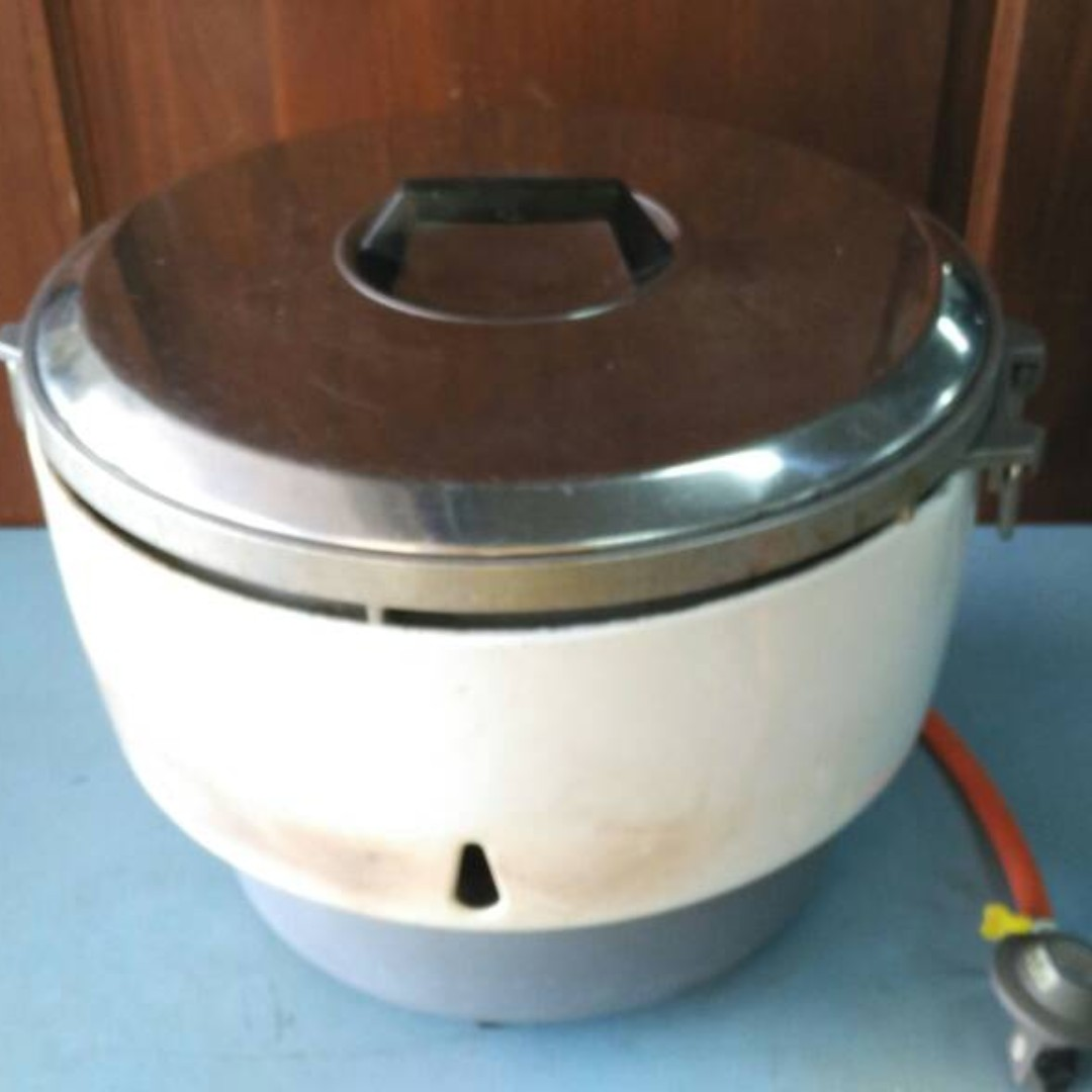 Periuk Nasi Commercial Gas Rice Cooker 10 Liters White K69 B Kitchen Liances On Carou