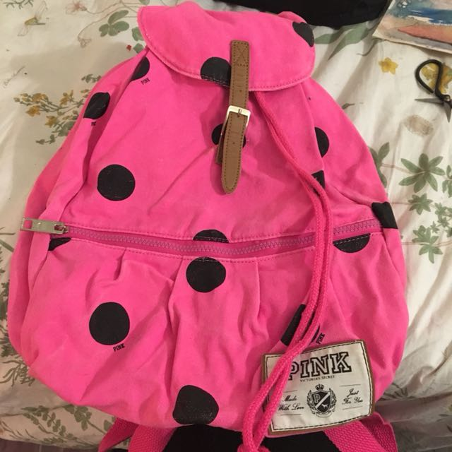 PINK by Victoria's Secret Canvas Backpack