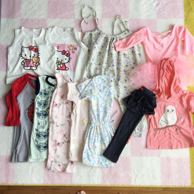 PL Bundle Clothings for 2-3yo Girl