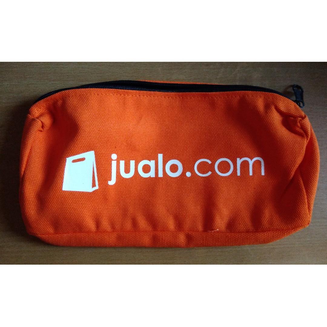 Pouch / Kotak Pensil Oranye