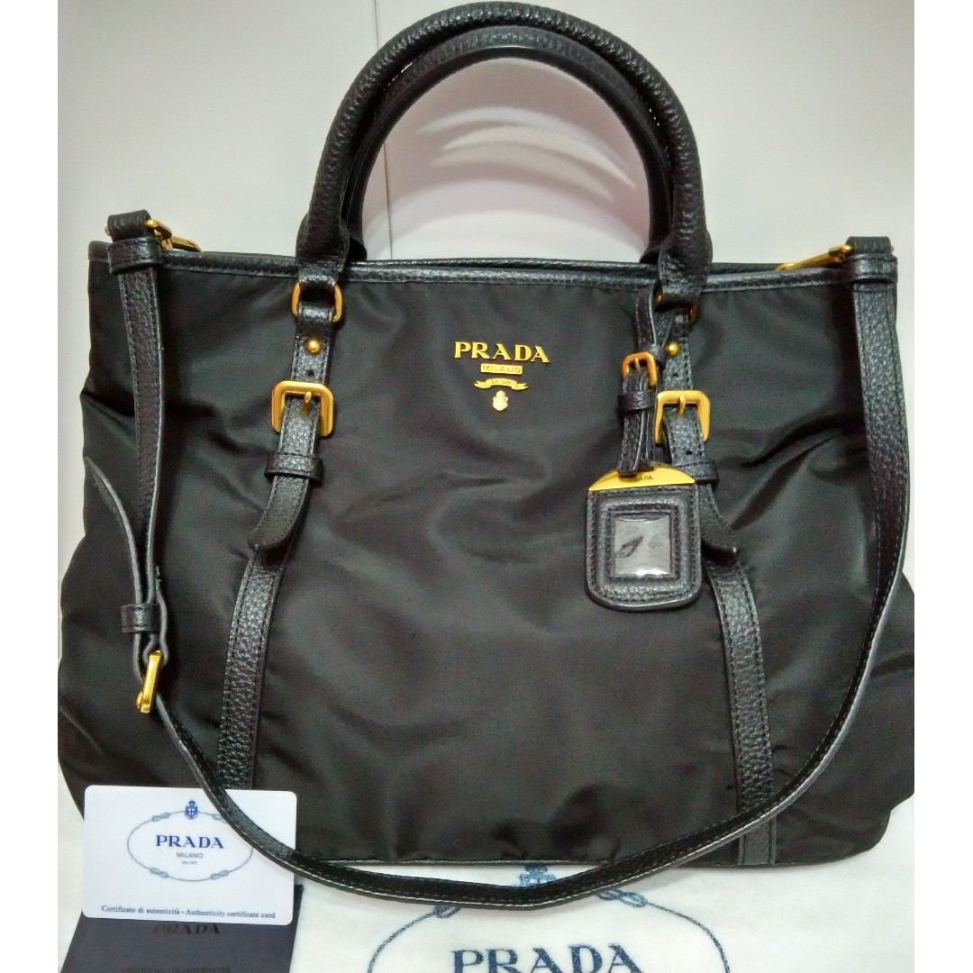 498412f0d113 ... discount price dropped prada tessuto nylon tote bn2527 mirror grade  boutique quality not original luxury bags