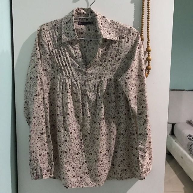[Preloved] - Floral Blouse