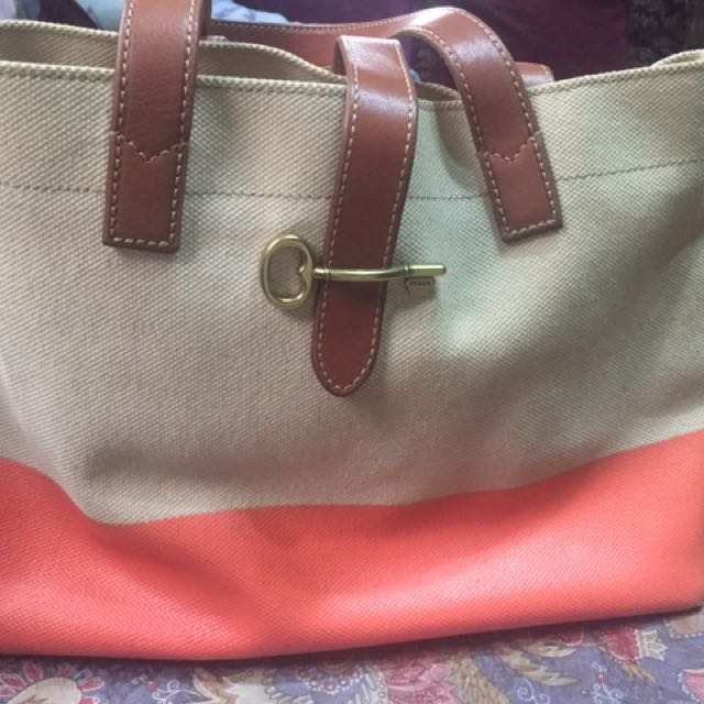Pre-loved fossil bag