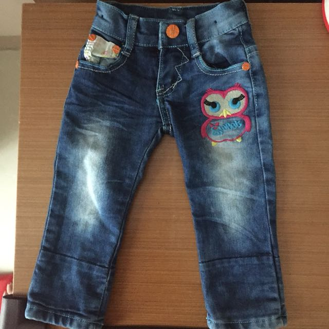 preloved jeans sz 12-24m