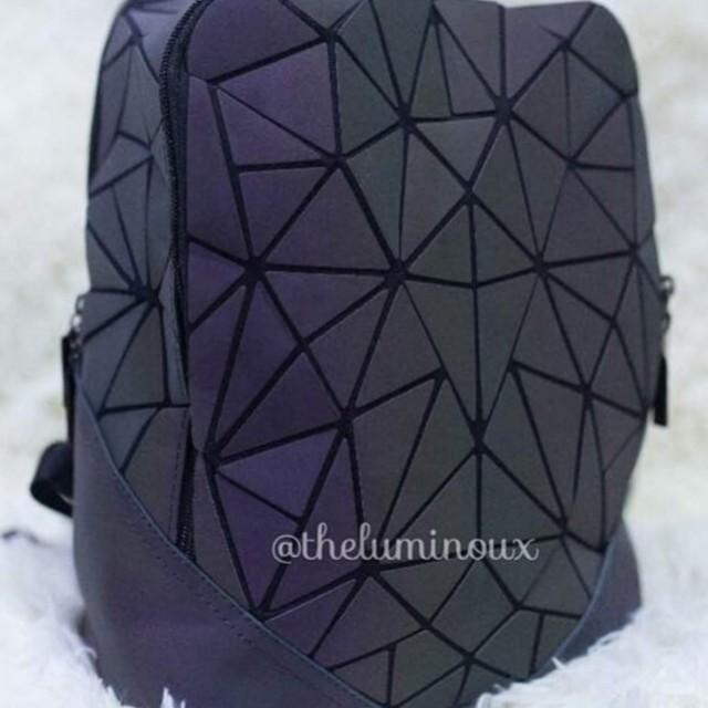 PREORDER Luminous 2zipper Bag