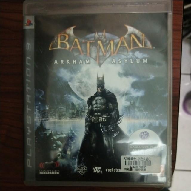 PS3 蝙蝠俠 阿卡漢城市 內含小丑