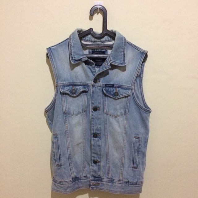 Pull & Bear Vest Denim
