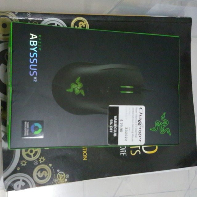 Razer Abyssus v2 gaming mouse very good quality