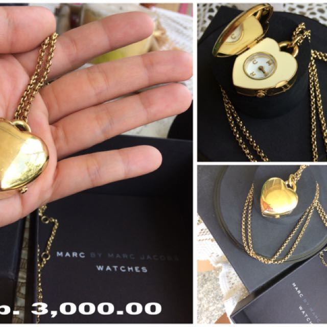 Repriced!!! Marc Jacobs Pendant Watch