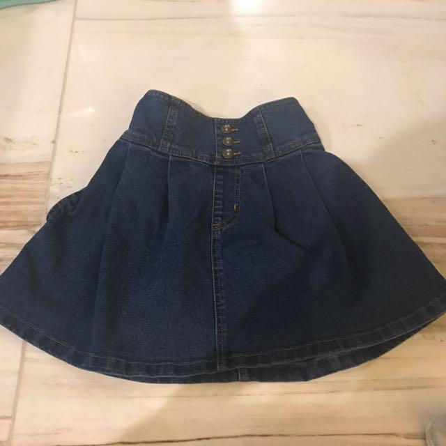 Rok jeans uniqlo GU