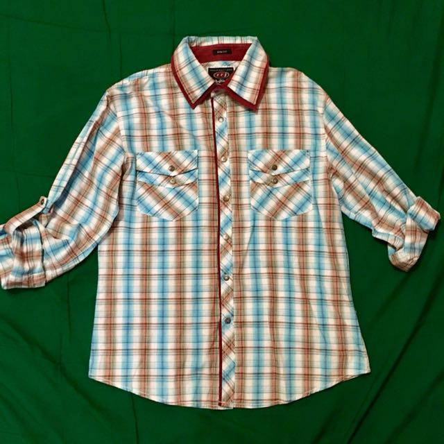 RRJ Checkered Long Sleeves