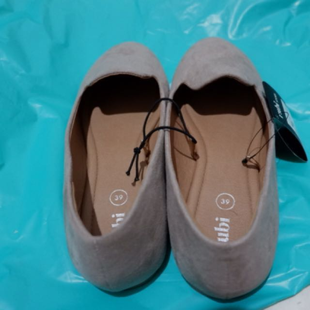 Rubi Grey Suede Shoes