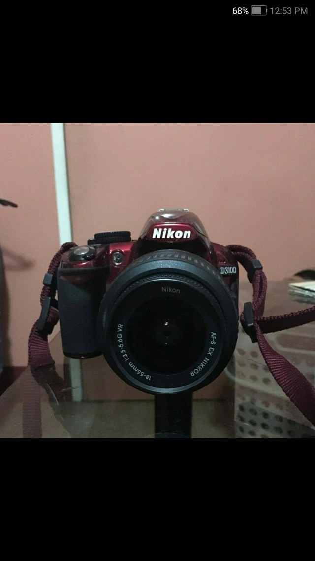 RUSH Nikon D3100