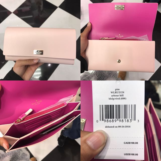 SALE! Kate Spade Pink Wallet