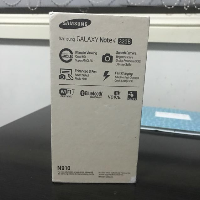SAMSUNG Galaxy Note 4 32GB - please read description