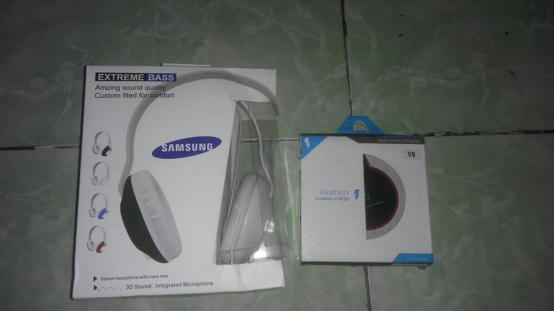 Samsung Headphone & Charger Wireless
