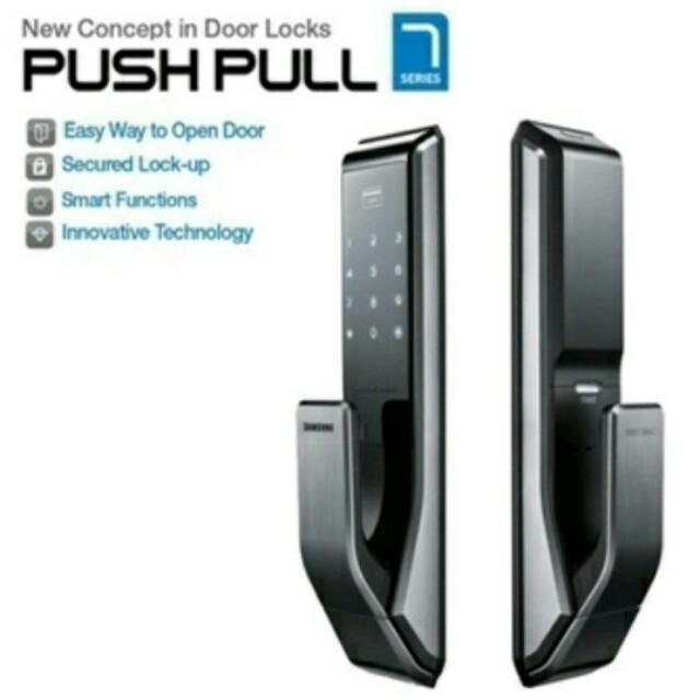Samsung Push Amp Pull Digital Door Lock Furniture Others