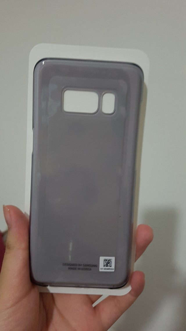 Samsung S8 case and 2 screen protectors