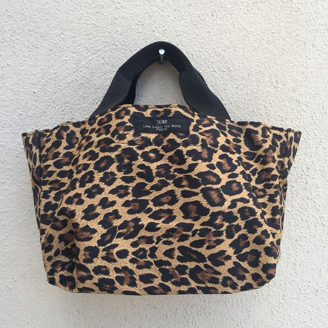 Sazaby Japan Leopard Printed Small Bag