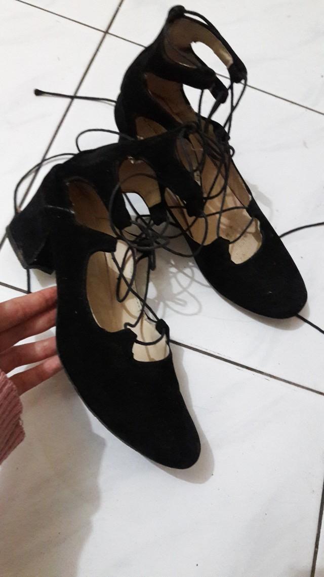 Sepatu balerina masih bagus jarang dipake