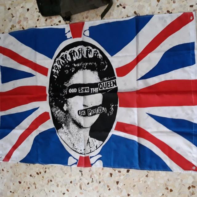 Sex Pistol Flag