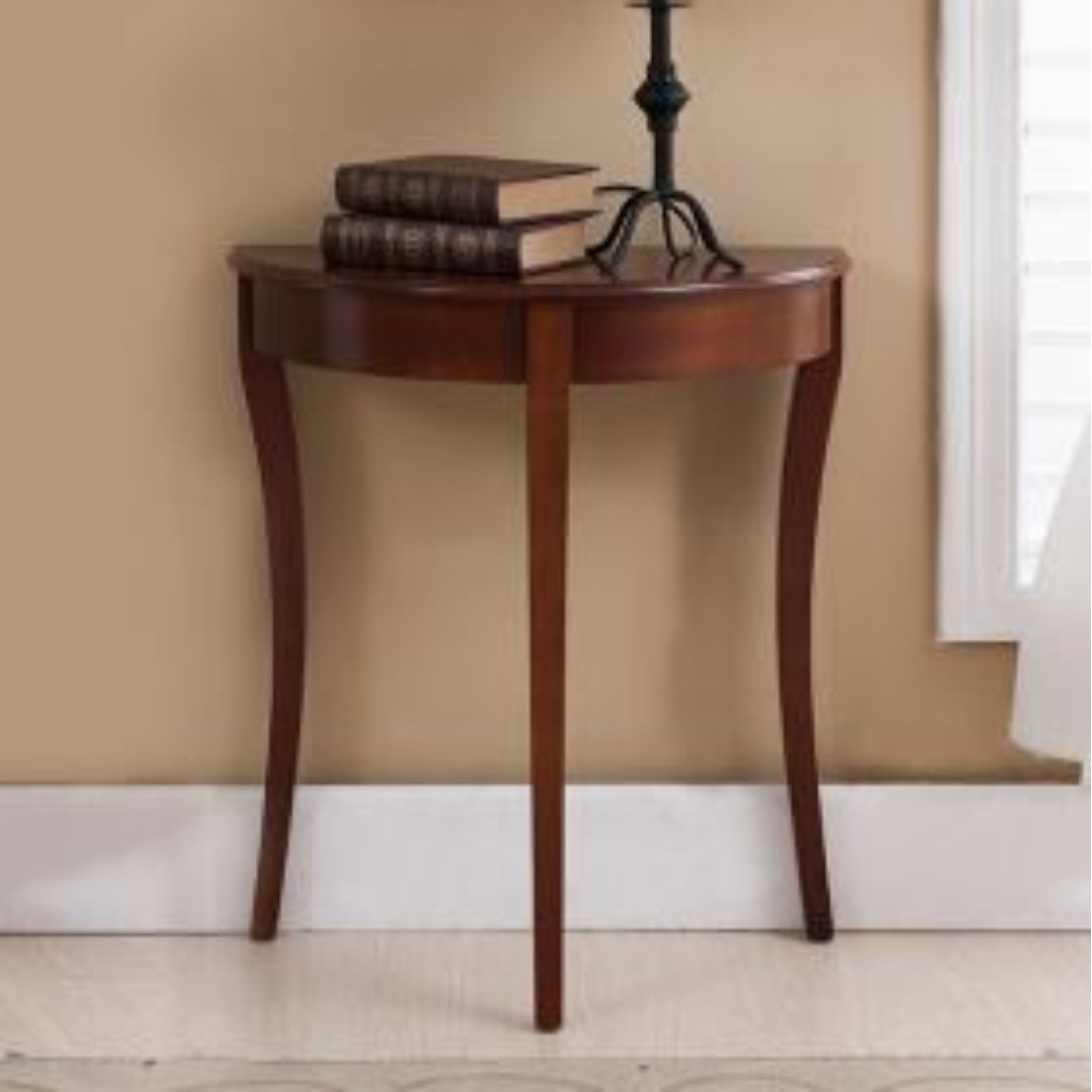 Picture of: Simplistic Semi Circle Console Table Furniture Tables Chairs On Carousell