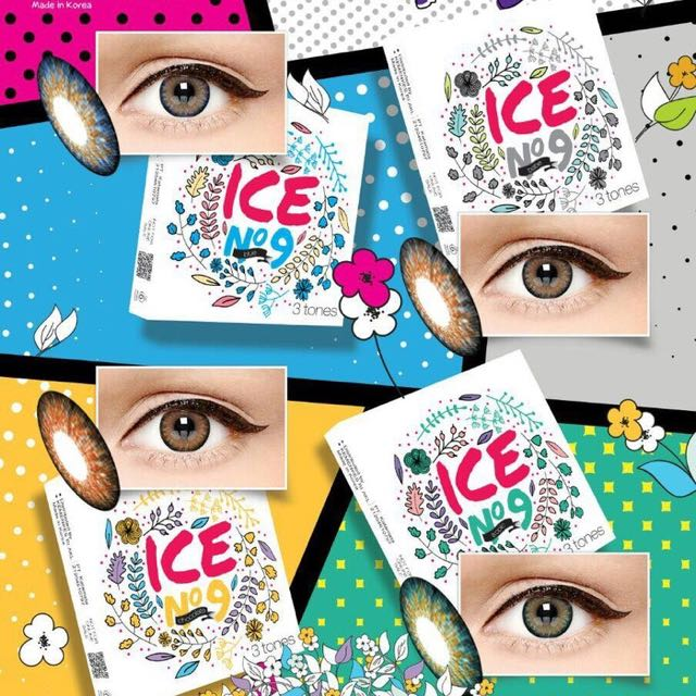 Softlens X2 Ice No 9