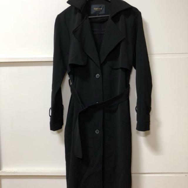 starmimi 長版厚風衣外套