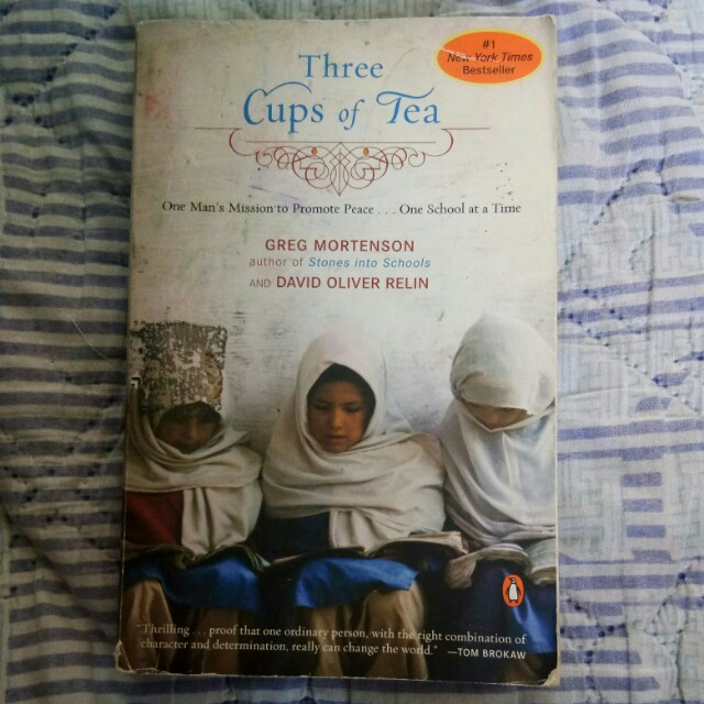 Three Cups of Tea + Free LIFETIME ACCESS TO MY EBOOK COLLECTION