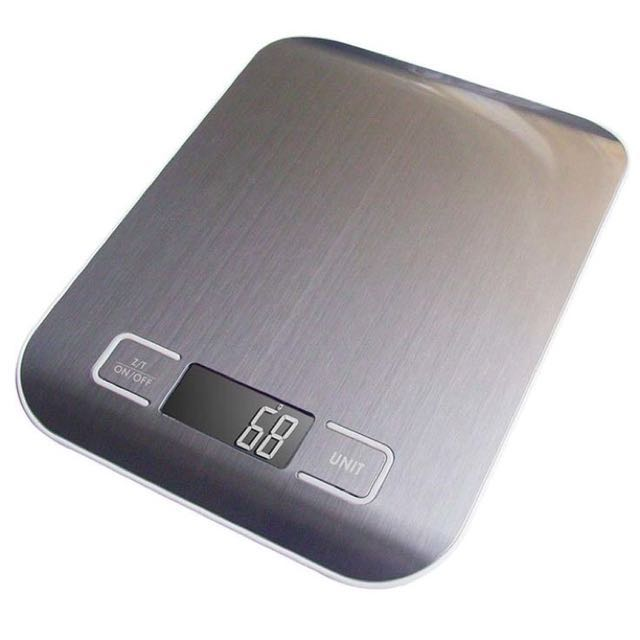 Timbangan digital multifungsi, maksimal 5kg