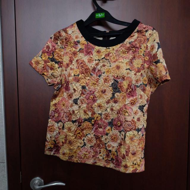 TOPSHOP Floral top