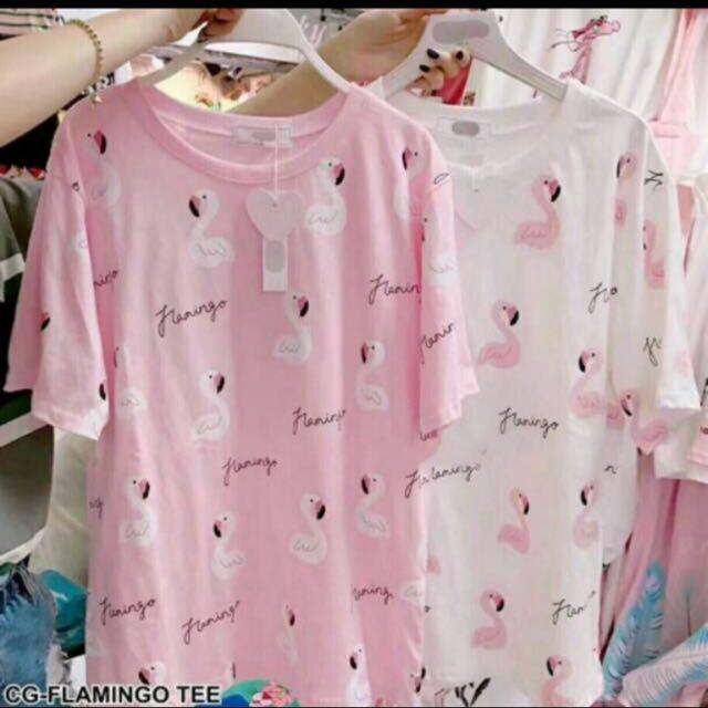 T-shirt flaminggo