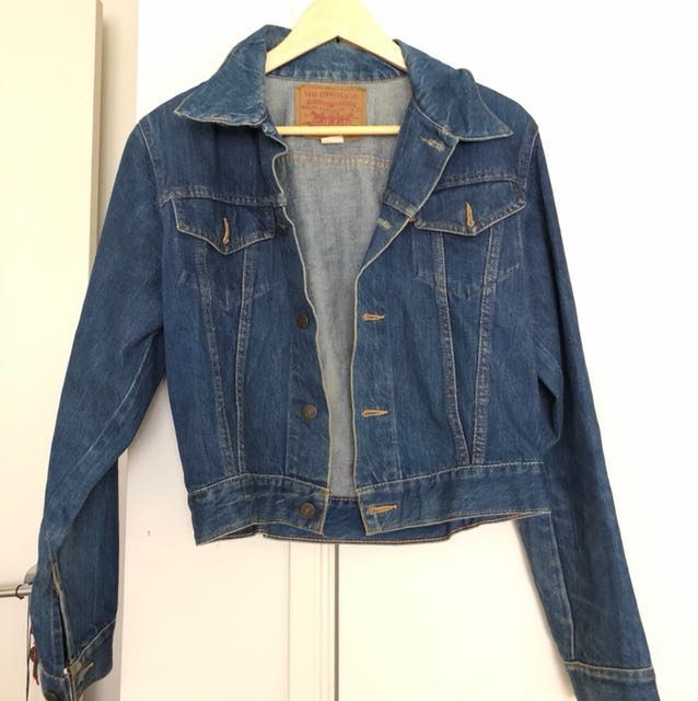Vintage Levi's Blue Denim Jacket