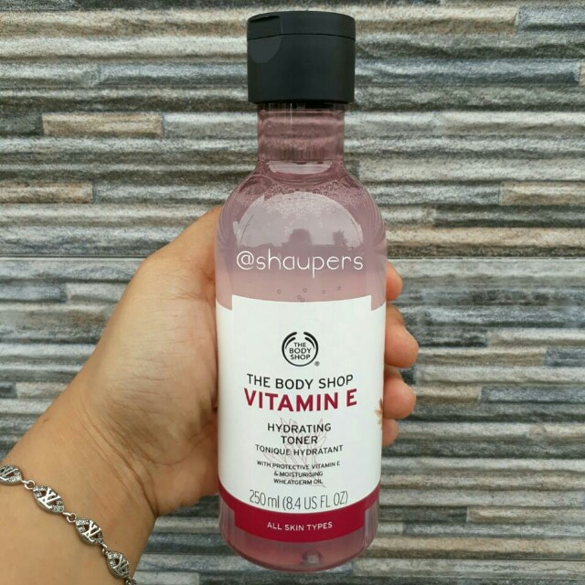 Vitamin E Hydrating Toner 250ml The Body Shop