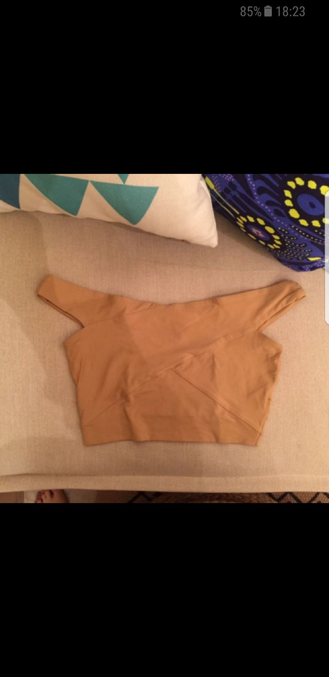 WANTED to buy kookai munich top in 'frappe' tan colour size 1