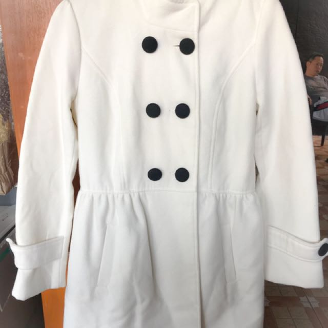 White korean coat