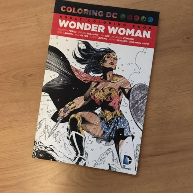 Wonder Woman - Colouring Book❣️