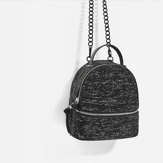 Zara Glitter Backpack