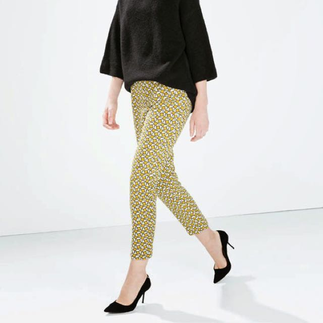 Zara Yellow Authentic