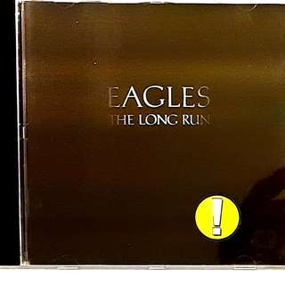 German Press CD The Eagles The Long Run