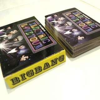 BIGBANG Playing Cards / Photo Cards (Unofficial)