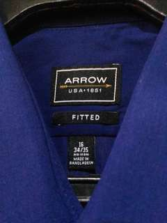 Arrow Navy Blue Men's Polo