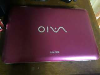 For sale Sony Vaio (Pink) Netbook RUSH SALE